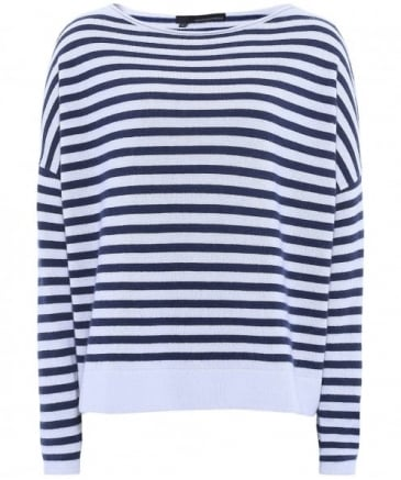 Cashmere Ali Striped Jumper