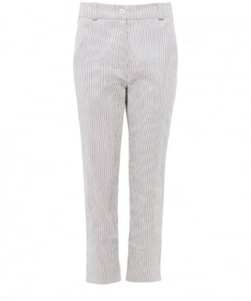 Striped Capri Trousers