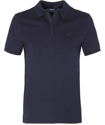 Spread Collar Polo Shirt