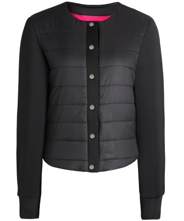 Structured Blouson Jacket