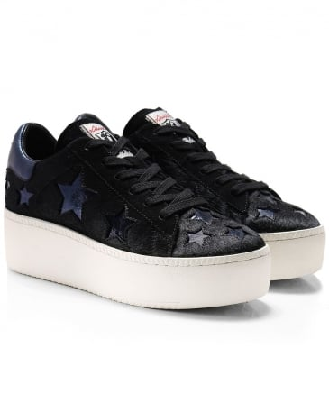 Pony Hair Cult Star Trainers