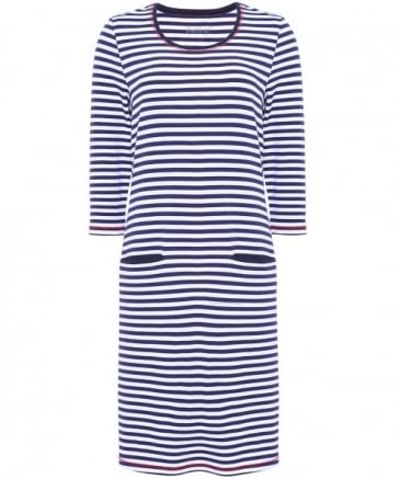 Susie Striped Jersey Dress