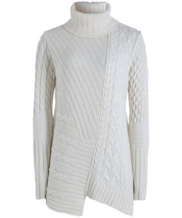 Wool Mondello Cable Knit Jumper
