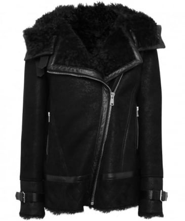 Suede March Shearling Jacket