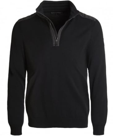 Merino Wool Kilmington Half-Zip Jumper