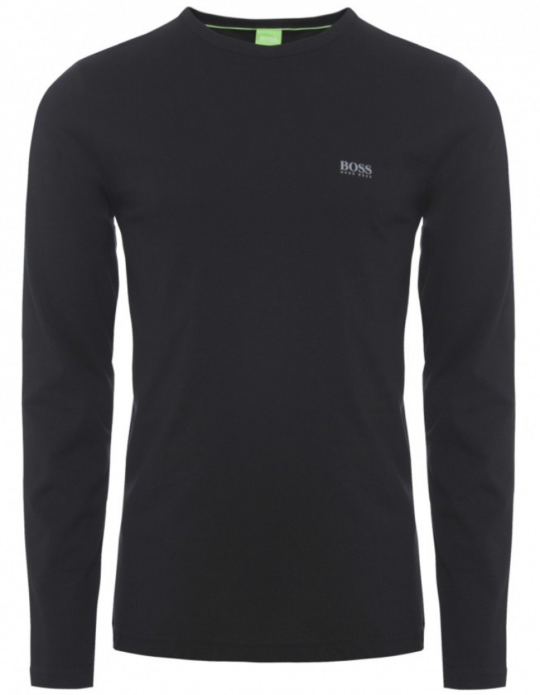 herren hugo boss green a long sleeve t shirt jules b. Black Bedroom Furniture Sets. Home Design Ideas