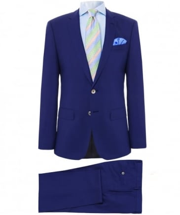 Slim Fit Virgin Wool Hutson4/Gander1 Suit