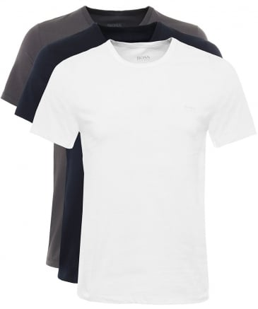 Three Pack Of Cotton T-Shirts