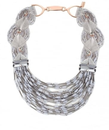 Multi Strand Collar Necklace