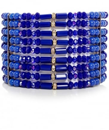 Beaded Columbia Road Cuff Bracelet