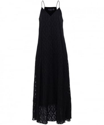 Carenna Jacquard Maxi Dress