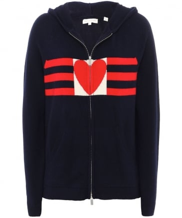Cashmere Love Heart Hoodie