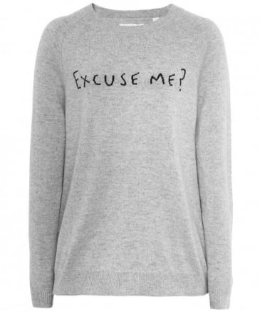 Cashmere Excuse Me Jumper