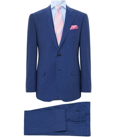 Virgin Wool Striped Suit