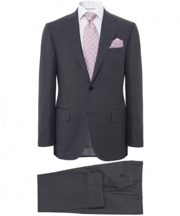 Virgin Wool Pindot Suit