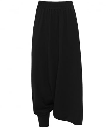 Draped Assymetric Trousers