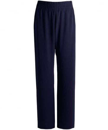 Stretch Fit Crepe Trousers