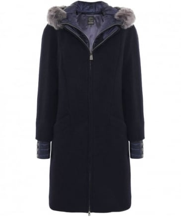 Detachable Gilet Wool Coat