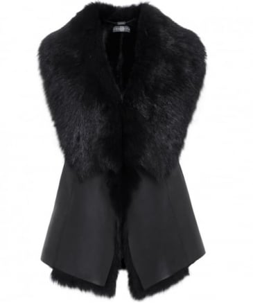 Waterfall Sheepskin Gilet