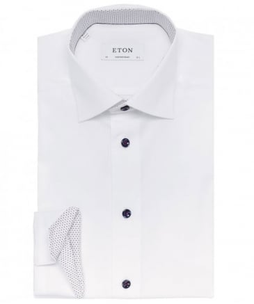 Contemporary Fit Poplin Shirt