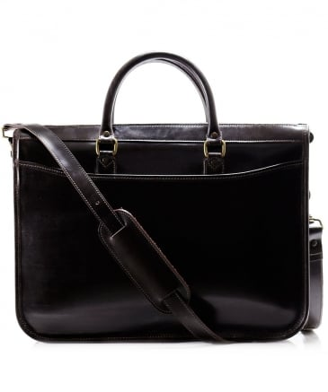 Bridle Hide Mayfair Briefcase