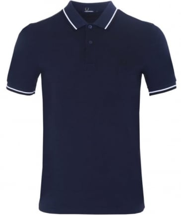 Slim Fit Twin Tipped Polo Shirt