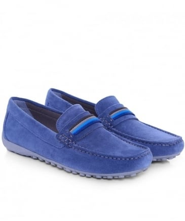 Suede Mocassino Penny Loafers