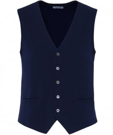 Cotton Knitted Waistcoat