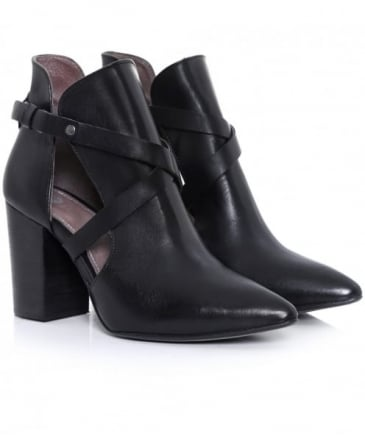 Geneve Cut Out Boot Heels