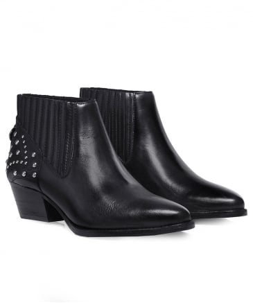 Studded Leather Ernest Boots