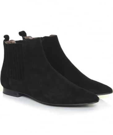 Reine Suede Chelsea Boots