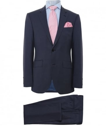 Sharkskin Wool Suit