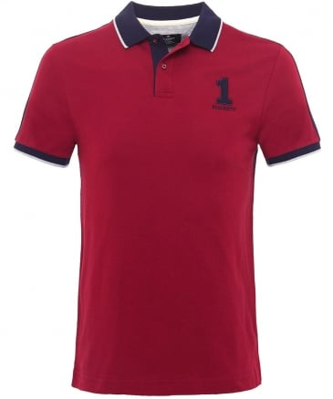 Classic Fit Block Panel Polo Shirt