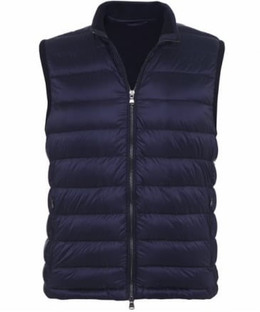 Knitted Back Gilet
