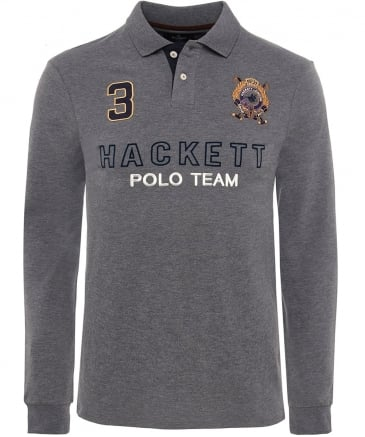 Long Sleeve Snow Polo Shirt