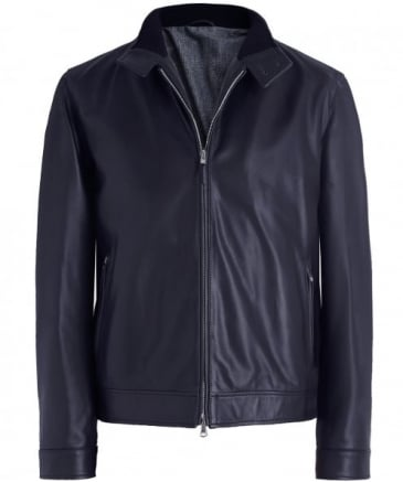 Nappa Leather Herrington Jacket