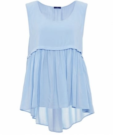 Candid Pleated Camisole Top