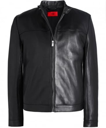 Leather Luckas Biker Jacket