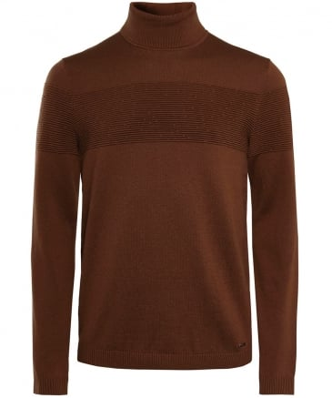 Virgin Wool Sisealo Turtleneck Jumper