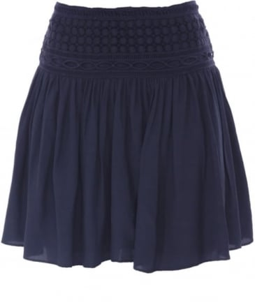 Lomita Embroidered Skirt