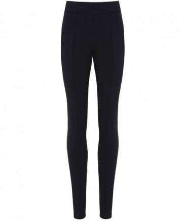 Jersey Pleated Leggings