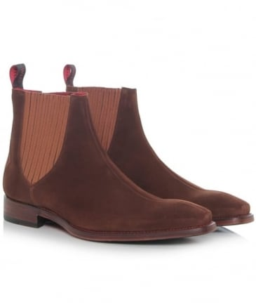 Suede Bauhaus Hunger Chelsea Boots