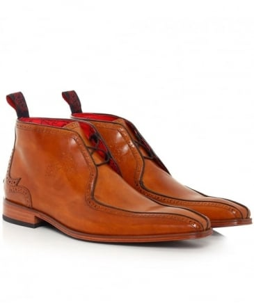 Leather Scarface Chukka Boots