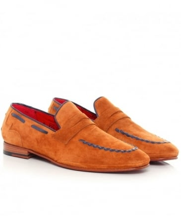 Suede Martini Croste Loafers