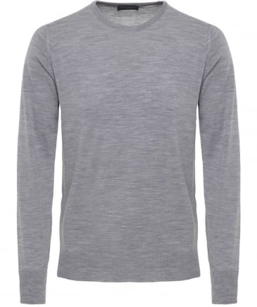 Easy Fit Merino Wool Crew Neck Marcus Jumper