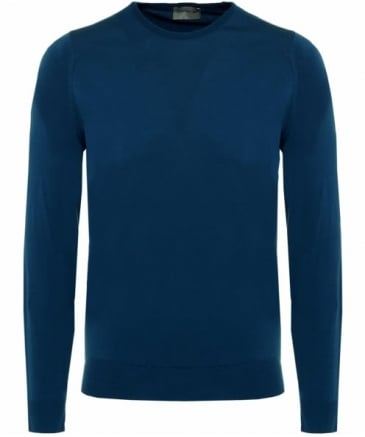 Standard Fit Merino Wool Crew Neck Lundy Jumper