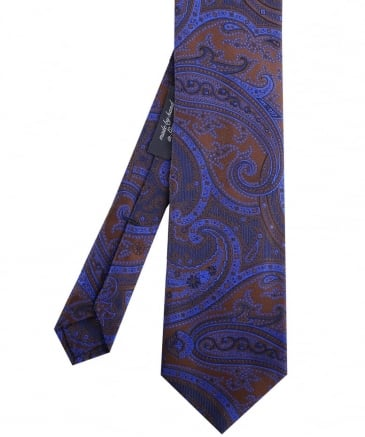 Faded Paisley Tie