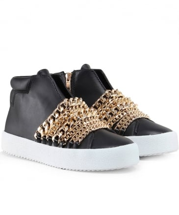 Leather Duke Astana Chain Trainers