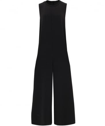 Wide Leg Snap Jumpsuit