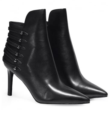 Suede Leah Ankle Boots